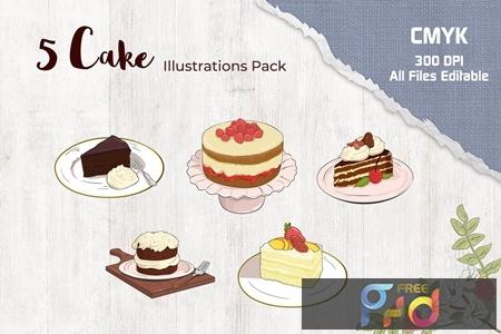 Cake Illustration 2J568DF 1