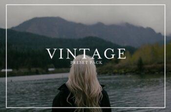 Vintage Film Presets Pack 4445973 7