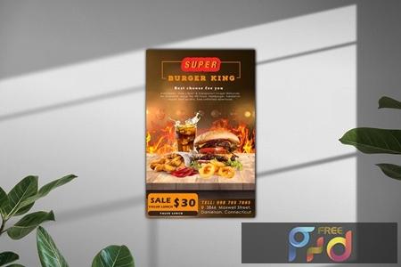 Food Flyer 5D6F3KM 1