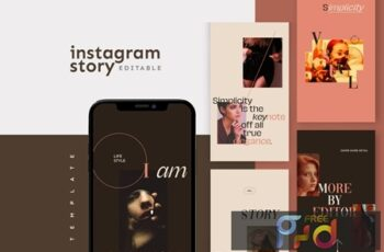 Instagram Story Template D3TACWX