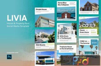 Livia - House Instagram Feed Template B8NMBXF 3