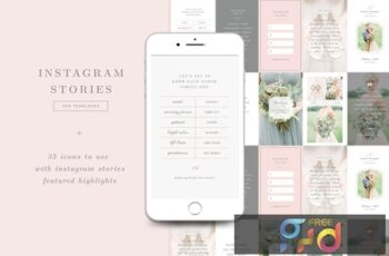 Wedding Photographer Instagram Stories Templates 4T9DYK4 5