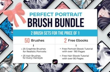 Perfect Portrait Brush Bundle 4383361 6
