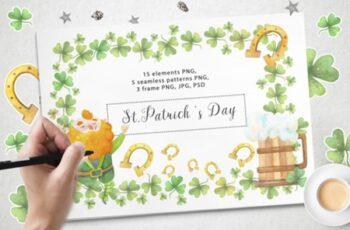 Happy St.Patrick 's Day 2542896 7