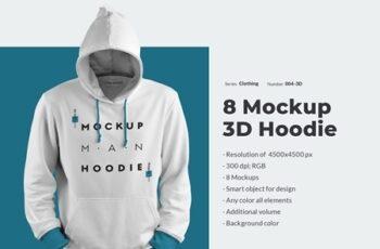 8 3D Men Mockups Hooddie 53960 5