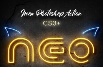 Neon Photoshop Action 25568919 2
