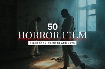 50 Horror Film Lightroom Presets 4457132 4