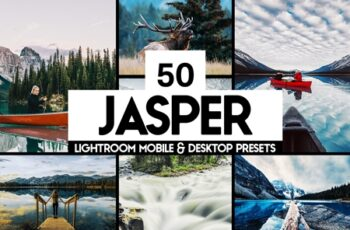 50 Jasper Lightroom Presets and LUTs 4490646 3