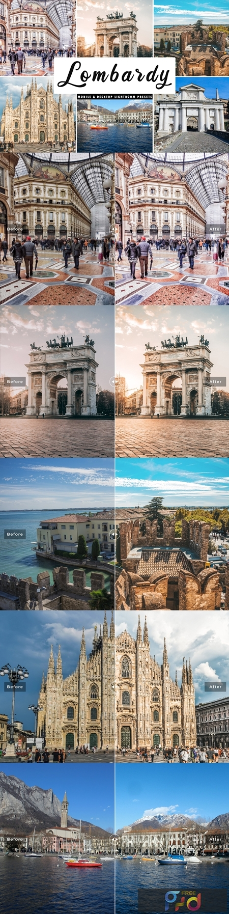 Lombardy Lightroom Presets Pack 4508559 1