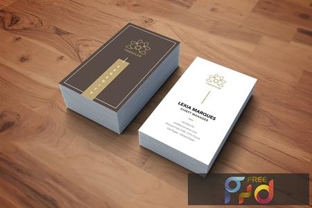 Business Card VA54WTD 1