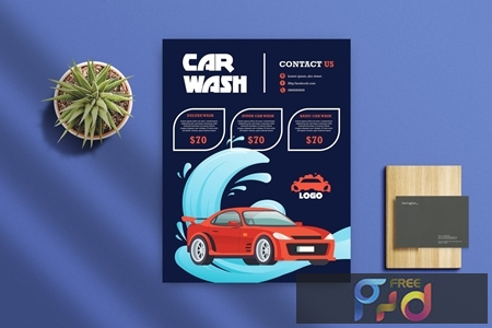 Car Wash Flyer 2 47HHWQA 1