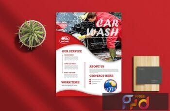 Car Wash Flyer 3 Q42BEGA 2