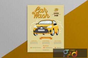 Car Wash Flyer 4 EE3R4CU 6