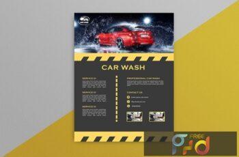 Car Wash Flyer 5 EVGNGHD 2