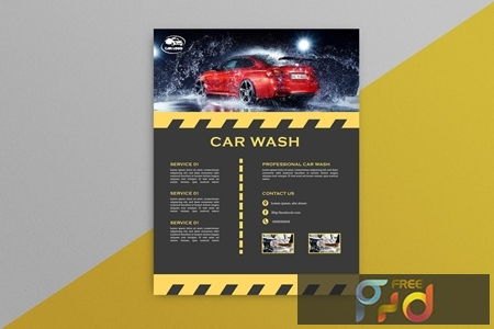 Car Wash Flyer 5 EVGNGHD 1