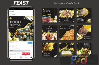 Feast - Instagram Feeds Pack 9567UQC 6