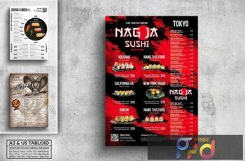 Poster Food Menu Bundle - A3 & US Tabloid GS73TD9 7