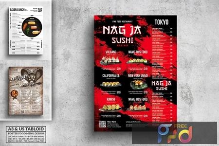 Poster Food Menu Bundle - A3 & US Tabloid GS73TD9 1