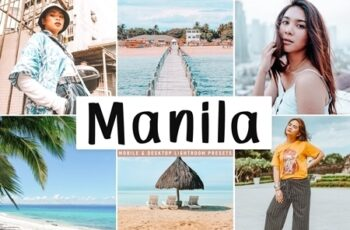 Manila Lightroom Presets Pack 4513174 3