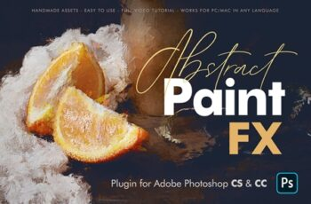 Abstract Paint FX - Photoshop Plugin 4509952