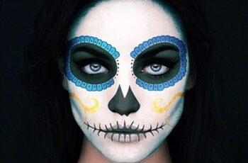 Catrina Skull Photoshop Action 24988521 3