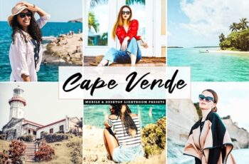 Cape Verde Mobile & Desktop Lightroom Presets 9EP598R 5