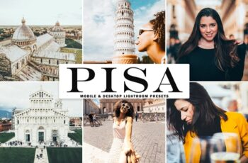 Pisa Mobile & Desktop Lightroom Presets VPS4XGL 5