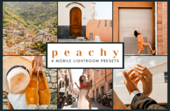 4 Mobile Lightroom Presets - Peachy 2651897 4