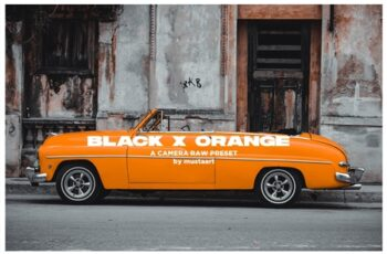 Black x Orange - Urban CR Filter 4492472 5