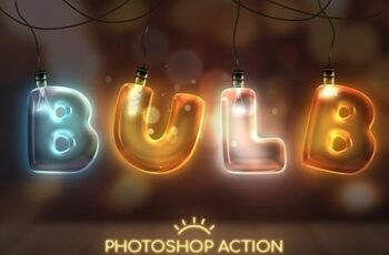 Light Bulb - Photoshop Action 25602135 4