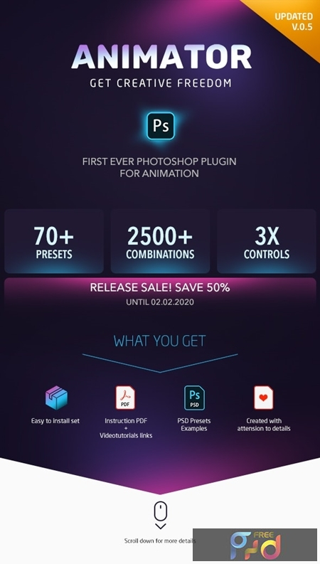 Animator Photoshop Plug-in for Animated Effects 25403011 1