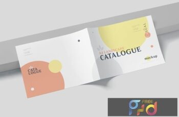 A4 Horizontal Catalogue Mockups LJGXBZJ 4