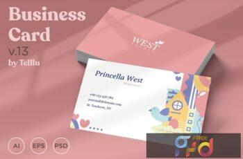 Business Card v.13 74GVEQT 7