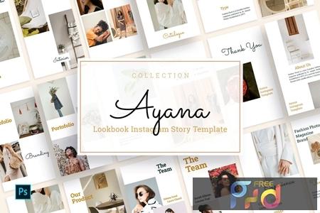 Ayana - Lookbook Instagram Story Template 263JBBB 1
