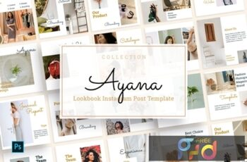 Ayana - Lookbook Instagram Feed Template ZWB8KEC 6