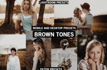 BROWN TONES Lightroom Presets Premium 2685425 5