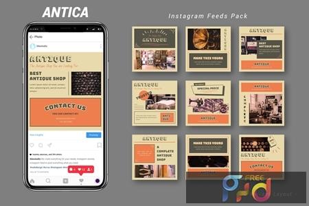 Antica - Instagram Feeds Pack 2WAYZK3 1