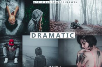 DRAMATIC Lightroom Presets Premium 2685445 7