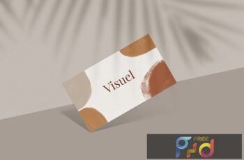 Business Card Mockup X7RTGDP 6