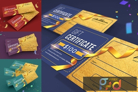 Colorful Gift Certificate ACQZL5F 1