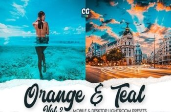 Orange & Teal Vol. 2 - 15 Premium Lightroom Presets 25657093 6
