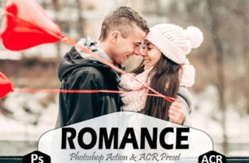 10 Romance Photoshop Actions, ACR Preset 2732879 2