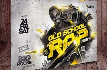 Rap Flyer Template 25600416 4