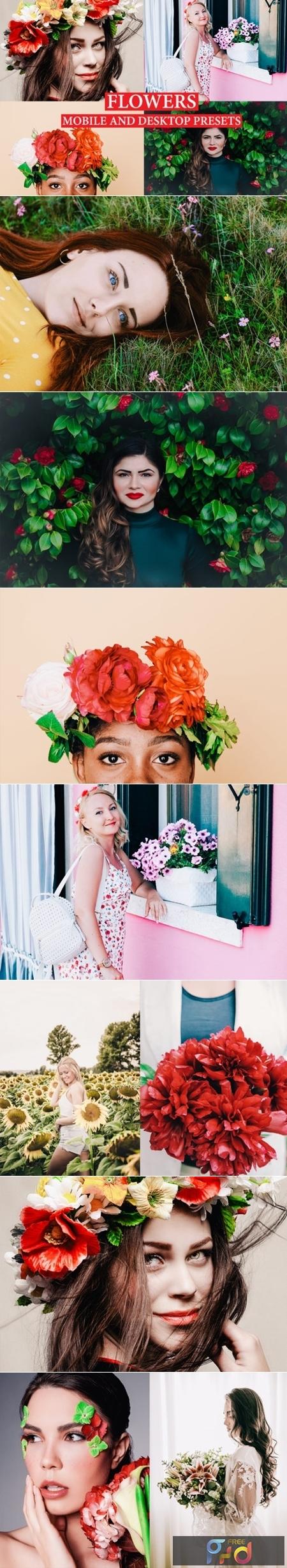 FLOWERS Lightroom Presets Premium 2732848 1