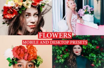 FLOWERS Lightroom Presets Premium 2732848 7