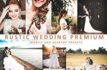 Rustic Wedding Lightroom Presets Premium 2732891 2