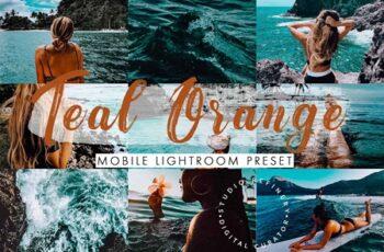 Teal Orange Mobile Lightroom Presets 4488157 5