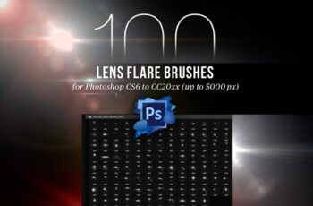 100 Lens Effect Brushes for PS Vol 1 4443103 1