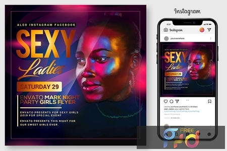 Night Club Flyer Template 4519246 1