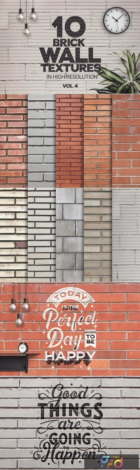 Brick Wall Textures x10 Vol.4 4504101 1